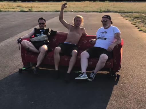 Electric Empire Couch Ride #boostedboard #koowheel und Liegestütze Ride #ownboard #mellowboards