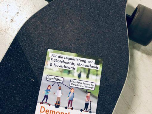 Legalisierung aller Elektrokleinstfahrzeuge in Deutschland