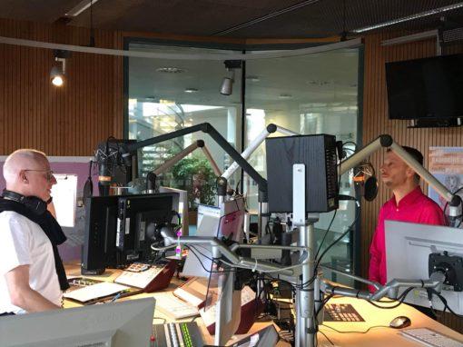 Interview bei radio1