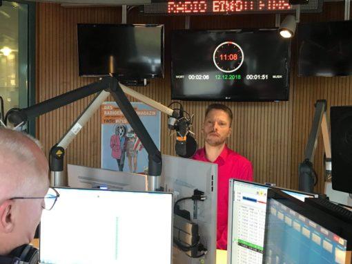 Zu Gast bei RBB Kulturradio