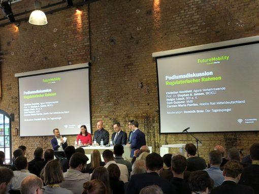 Besuch des FutureMobility Summit in Berlin