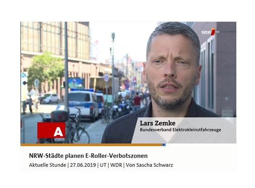 Verbotszonen und Unfälle E-Tretroller