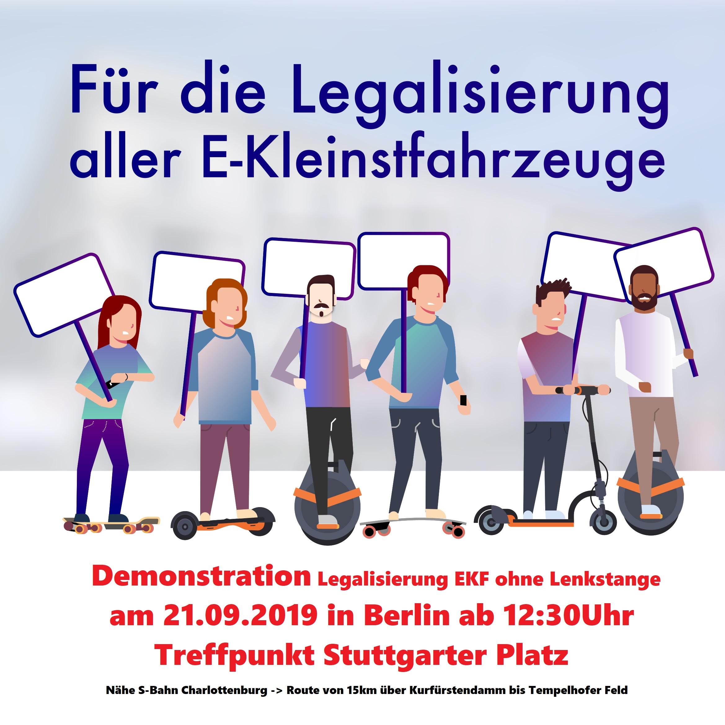 Elektrokleinstfahrzeug Demo
