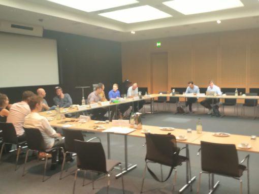 Treffen im Bundesministerium für Verkehr und digitale Infrastruktur am 24.07.2019 mit Herstellern, Verleihern und dem Bundesverband EKF
