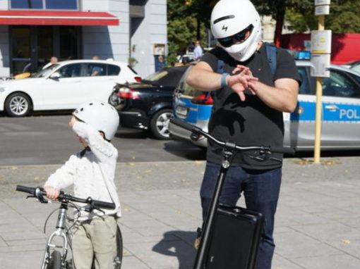 Übersicht nächste Termine Demonstrationen für Elektrokleinstfahrzeuge