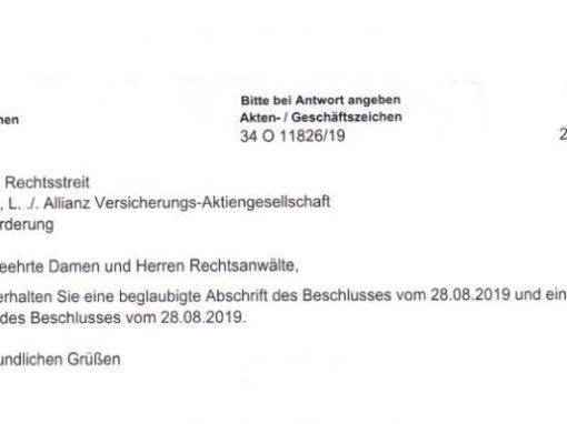 Klage am Landgericht München eingereicht: Versicherungsschutz für alle Elektrokleinstfahrzeuge