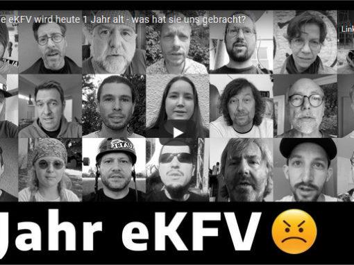 """1 Jahr eKFV """"Das Video"""""""